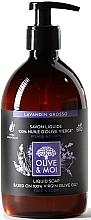 """Parfüm, Parfüméria, kozmetikum Folyékony szappan olívaolajjal """"Levendula"""" - Saryane Olive & Moi Liquid Soap"""