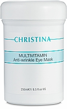 Parfüm, Parfüméria, kozmetikum Multivitaminos maszk szemkörnyékre - Christina Multivitamin Anti-Wrinkle Eye Mask