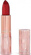 Parfüm, Parfüméria, kozmetikum Matt ajakrúzs - Nabla Cult Matte Soft Touch Lipstick