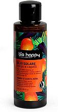 """Parfüm, Parfüméria, kozmetikum Önbarnító olaj """"Mangó és fekete répa"""" - Bio Happy Hair & Body Tanning Oil Mango And Black Carrot"""