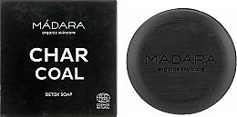 Parfüm, Parfüméria, kozmetikum Tisztító arcszappan szénnel - Madara Cosmetics Charcoal Detox Soap