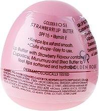 Parfüm, Parfüméria, kozmetikum Balzsam-olaj ajakra, eper - Golden Rose Lip Butter SPF15 Strawberry