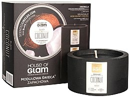 Parfüm, Parfüméria, kozmetikum Illatosított gyertya - House of Glam Black Coconut Candle