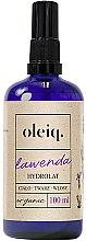Parfüm, Parfüméria, kozmetikum Levendula hidrolát arcra, testre és hajra - Oleiq Hydrolat Lavender