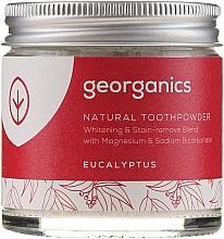 Parfüm, Parfüméria, kozmetikum Természetes fogpor - Georganics Eucalyptus Natural Toothpowder