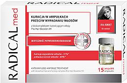 Parfüm, Parfüméria, kozmetikum Hajhullás elleni ampulla komplexum nőknek - Radical Med Anti Hair Loss Ampoule Treatment For Woman