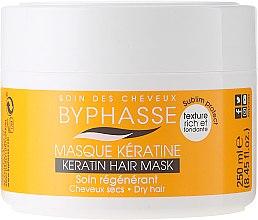Parfüm, Parfüméria, kozmetikum Hajpakolás száraz, igénybevett hajra - Byphasse Keratin Hair Mask