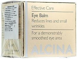 Parfüm, Parfüméria, kozmetikum Anti-age szemkörnyékápoló krém - Alcina E Eye Balm