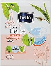 Parfüm, Parfüméria, kozmetikum Egészségügyi betét Panty Herbs Sensetive Plantago, 60db - Bella