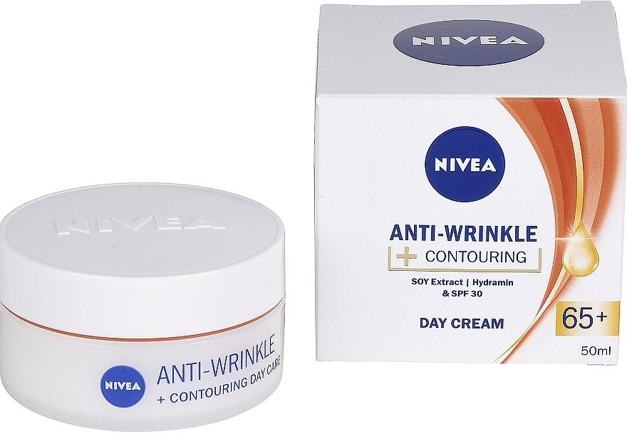 "Nappali krém ""Fiatalság energiája 65+"" - Nivea Anti-Wrinkle Contouring Day Care 65+"