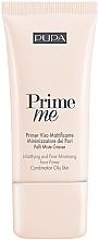 Parfüm, Parfüméria, kozmetikum Mattító primer - Pupa Mattifying & Pore Minimising Face Primer