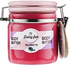 Parfüm, Parfüméria, kozmetikum Áfonyás testvaj - Delia Dairy Fun Body Butter