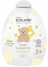 """Parfüm, Parfüméria, kozmetikum Baba sampon 2 az 1 """"Könnyű kifésülés"""" - Ecolatier Baby Shampoo 2 in 1 Easy Detangling (utántöltő)"""