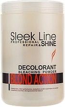 Parfüm, Parfüméria, kozmetikum Hajpúder - Stapiz Sleek Line Repair & Shine Blond Action