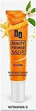 Parfüm, Parfüméria, kozmetikum Sminkalap C vitaminnal - AA Beauty Primer 360 Glow Make-Up Base Vitamin C