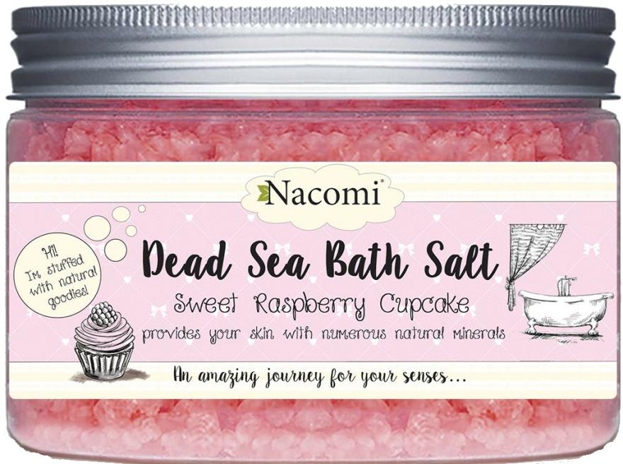 Holt tengeri sófürdő málnával - Nacomi Sweet Raspberry Cupcake Bath Salt
