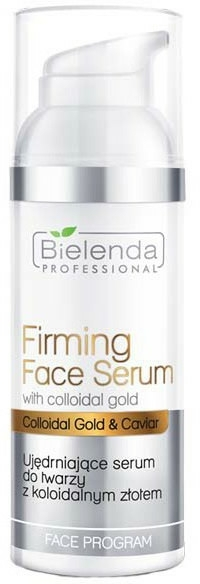 Arcszérum kolloid arannyal - Bielenda Professional Program Face Firming Face Serum With Colloidal Gold