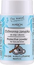 Parfüm, Parfüméria, kozmetikum Védő púder lábra és cipőbe eukaliptusz olajjal és mentollal - Marion Dr Koala Protective Powder