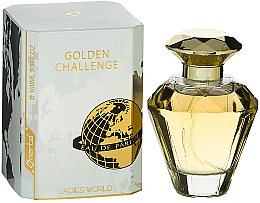 Parfüm, Parfüméria, kozmetikum Omerta Golden Challenge Ladies World - Eau De Parfum