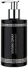 Parfüm, Parfüméria, kozmetikum Folyékony szappan - Vivian Gray Black Crystals Soap