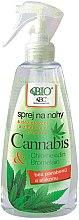 Parfüm, Parfüméria, kozmetikum Lábápoló spray - Bione Cosmetics Cannabis Foot Spray With Triethyl Citrate And Bromelain