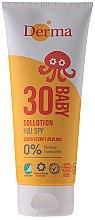 Parfüm, Parfüméria, kozmetikum Baba napvédő krém - Derma Sun Baby Sollotion SPF30