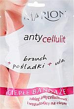 Parfüm, Parfüméria, kozmetikum Narancsbőr elleni kötés - Marion Anti-Cellulite Hot Bandages