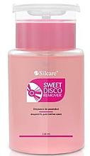 Parfüm, Parfüméria, kozmetikum Körömlakklemosó - Silcare Sweet Disco Remover
