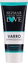 Parfüm, Parfüméria, kozmetikum Tusfürdő 2 az 1-ben hajra és testre - Hrisnina Cosmetics Sezmar Collection Love Varro Aphrodisiac Hair & Body Shower Gel