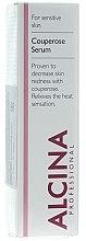 Parfüm, Parfüméria, kozmetikum Szérum bőrpír ellen - Alcina S Couperose Serum