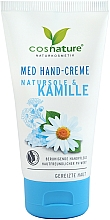 "Parfüm, Parfüméria, kozmetikum Kézkrém ""Tengeri só és kamilla"" - Cosnature Med Hand Cream"