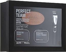 Parfüm, Parfüméria, kozmetikum Készlet - Zew Wahl (soap/2x85ml + brush + trimmer)