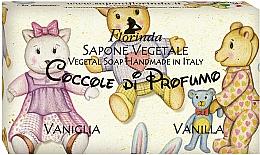"""Parfüm, Parfüméria, kozmetikum Természetes szappan """"Vanília"""" - Florinda Sapone Vegetale Vegetal Soap Vanilla"""