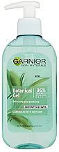 Parfüm, Parfüméria, kozmetikum Arclemosó gél - Garnier Skin Naturals Botanical Gel Green Tea Leaves