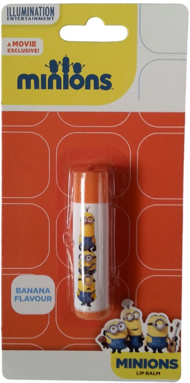 "Ajakbalzsam ""Banán"" - Illumination Entertainment Minions Banana Flavour Lip Balm"
