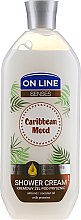 "Parfüm, Parfüméria, kozmetikum Krémgél tusfürdő ""Caribbean Mood"" - On Line Caribbean Mood Shower Cream"
