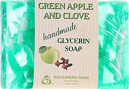 """Parfüm, Parfüméria, kozmetikum Glicerin szappan """"Zöld alma és szegfű"""" - Bulgarian Rose Green Apple & Clove Soap"""
