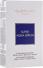 Parfüm, Parfüméria, kozmetikum Szett - Guerlain Super Aqua Serum Set (serum/50ml + eye/serum/5ml + mask/1pcs + lot/15ml)