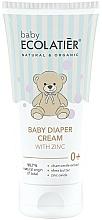 Parfüm, Parfüméria, kozmetikum Baba popsivédő krém cinkkel - Ecolatier Baby Diaper Cream With Zinc