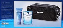 Versace Man Eau Fraiche - Készlet (edt/100ml + sh/gel/100ml + bag) — fotó N2