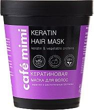 """Parfüm, Parfüméria, kozmetikum Hajmaszk """"Keratinnal"""" - Cafe Mimi Mask"""