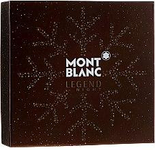 Parfüm, Parfüméria, kozmetikum Montblanc Legend Night - Szett (edp/100ml + ash/balm/100ml + sh/gel/100ml)