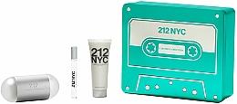 Parfüm, Parfüméria, kozmetikum Carolina Herrera 212 NYC - Szett (edt/100ml + edt/10ml + b/lot/75ml)