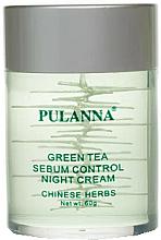 """Parfüm, Parfüméria, kozmetikum Arckrém zöld tea alapon """"Éjszakai"""" - Pulanna Green Tea Sebum Control Night Cream"""