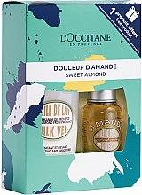 Parfüm, Parfüméria, kozmetikum Szett - L'occitane Almond Gift Set (sh/oil/75ml + b/milk/240ml)