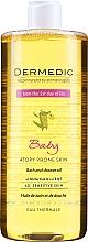 Parfüm, Parfüméria, kozmetikum Tusoló olaj - Dermedic Linum Emolient Baby
