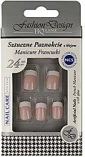 """Parfüm, Parfüméria, kozmetikum Műköröm tip """"Francia manikűr"""", 77968 - Top Choice Fashion Design"""
