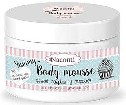 """Parfüm, Parfüméria, kozmetikum Test mousse""""Édes málna keksz"""" - Nacomi Body Mousse"""