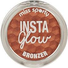 Parfüm, Parfüméria, kozmetikum Bronzosító arpúder - Miss Sporty Insta Glow Bronzer