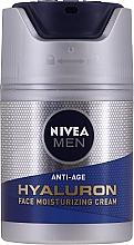 Parfüm, Parfüméria, kozmetikum Anti age arckrém hiauloronsavval - Nivea Men Anti-Age Hyaluron Face Moisturizing Cream SPF 15